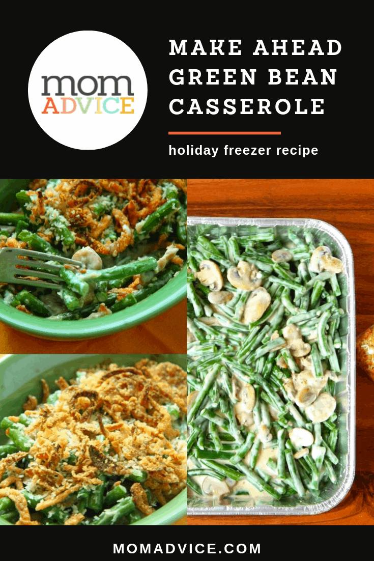Make Ahead Green Bean Casserole MomAdvice.com