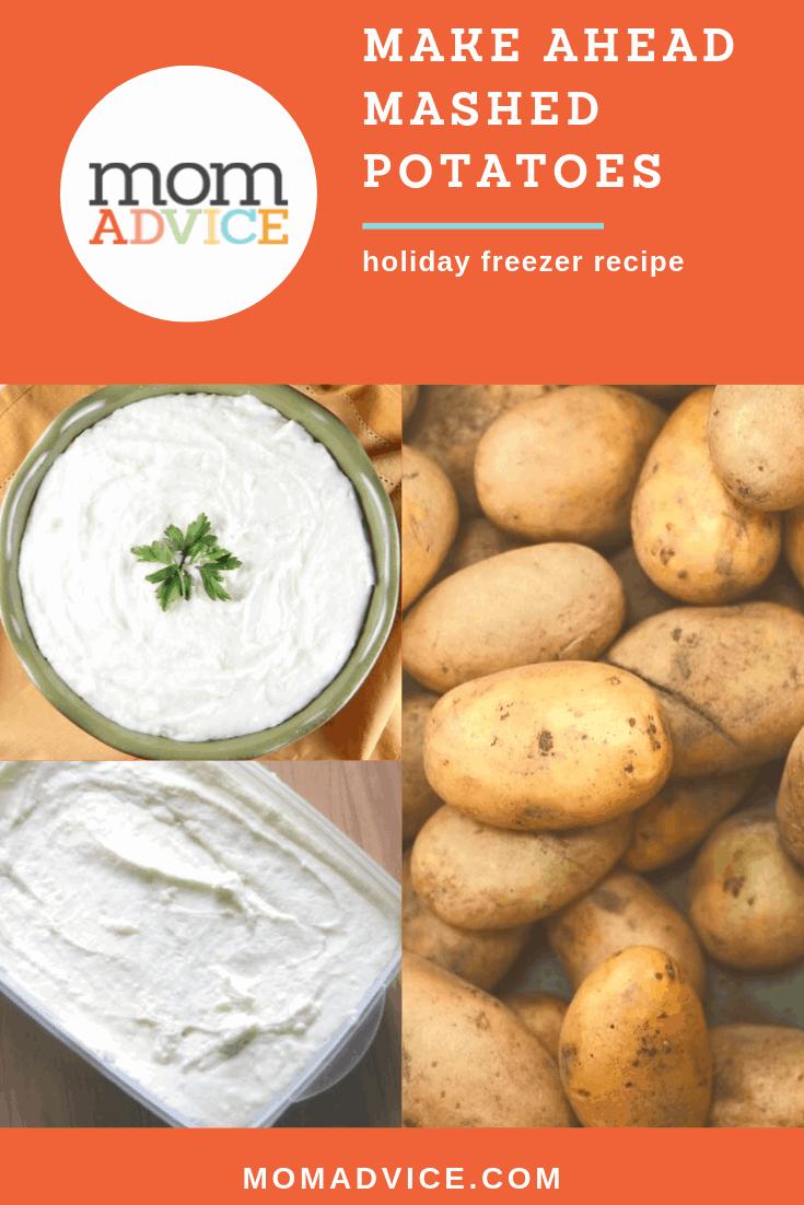 Make-ahead Mashed Potatoes MomAdvice.com