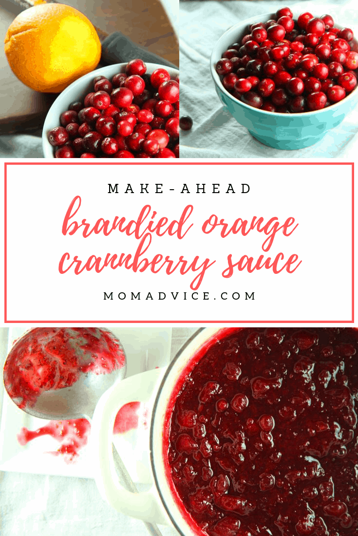Make-Ahead Cranberry Sauce from MomAdvice.com