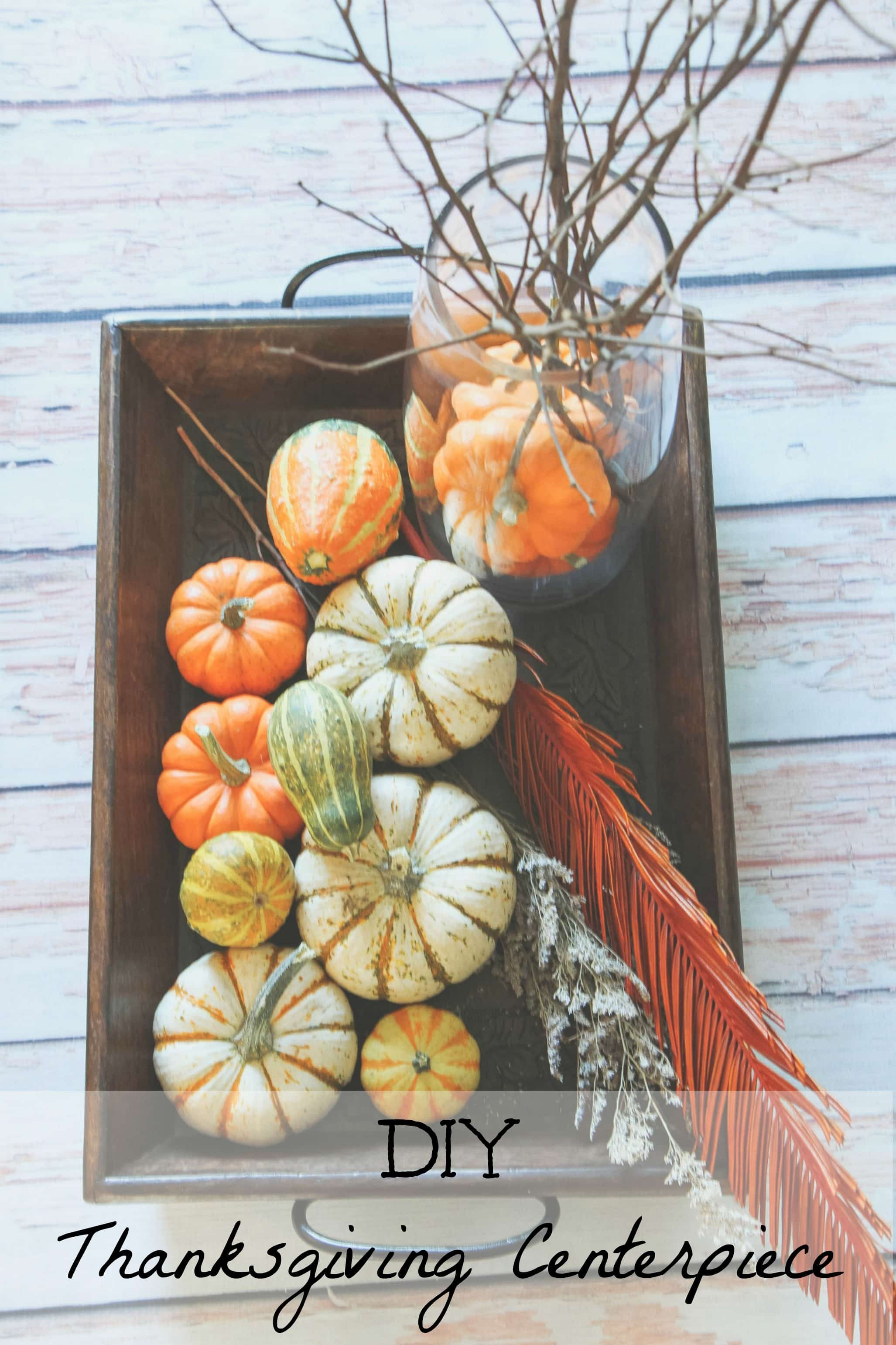 DIY Thanksgiving Centerpiece from MomAdvice.com.