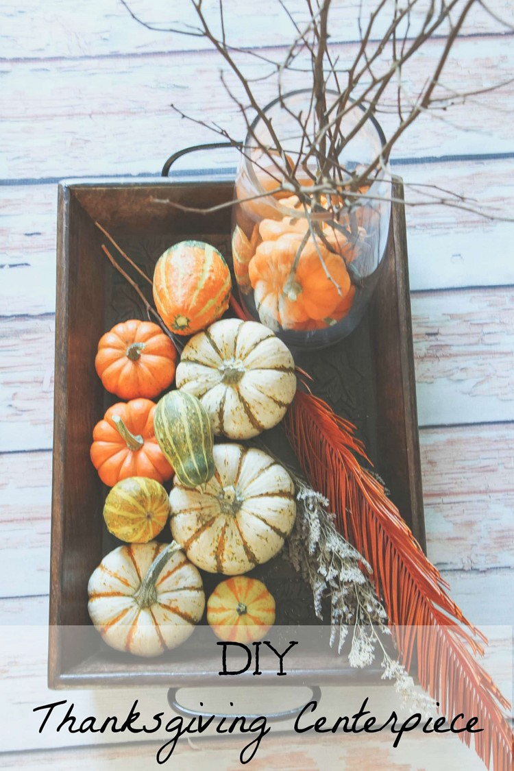DIY Thanksgiving Centerpiece MomAdvice.com