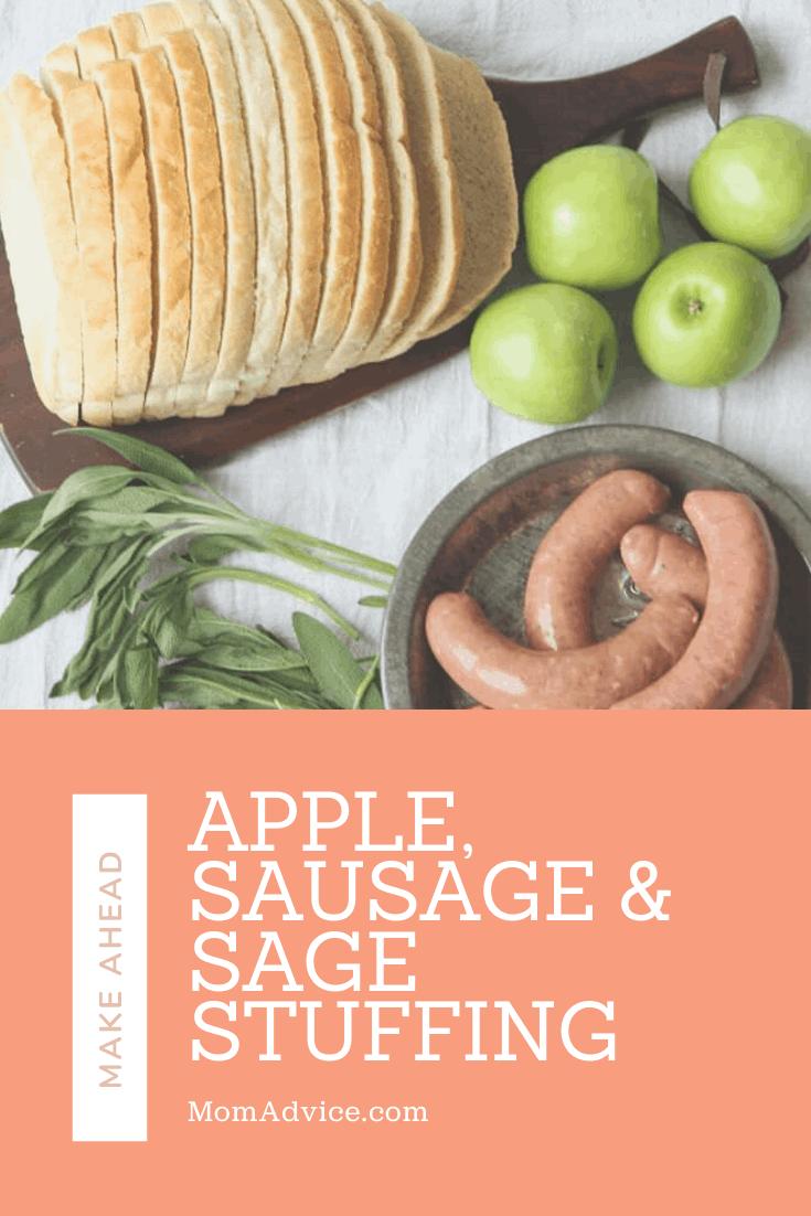 Apple, Sausage & Sage Stuffing MomAdvice.com