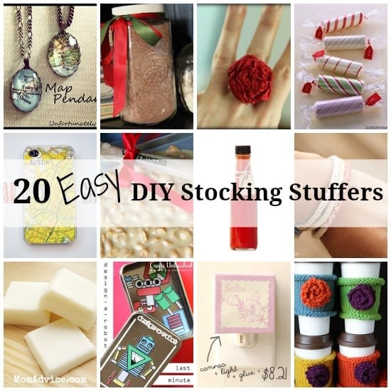 20 Easy DIY Stocking Stuffers - MomAdvice.com