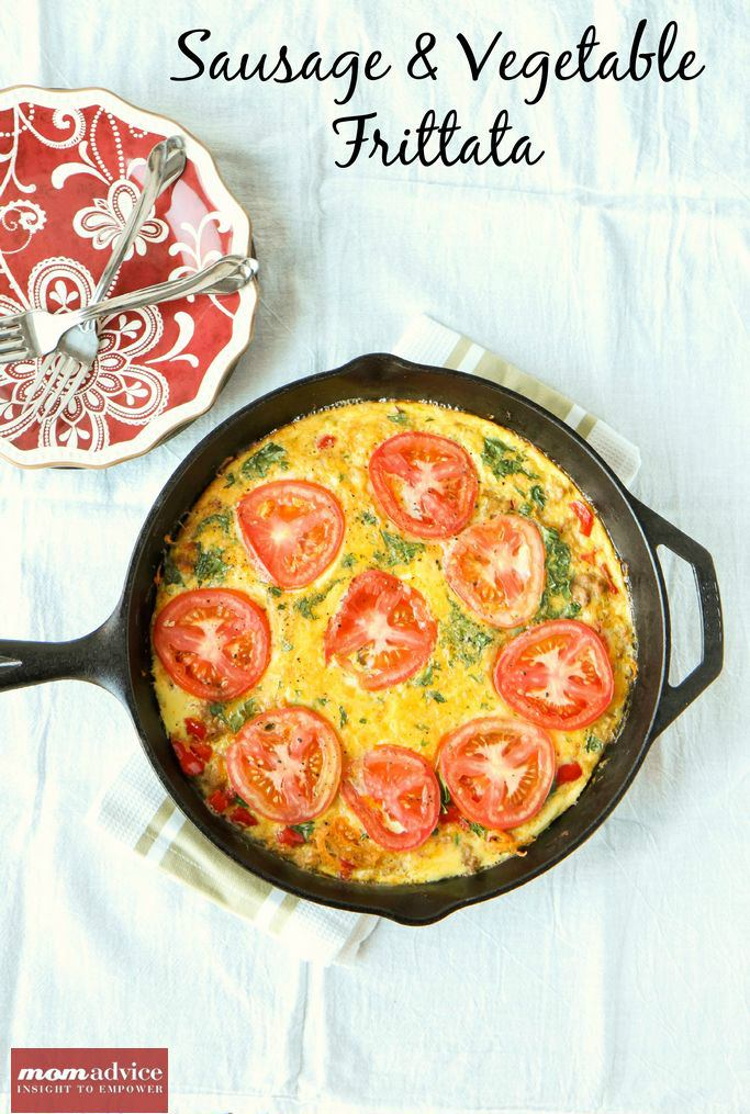 Sausage & Vegetable Frittata