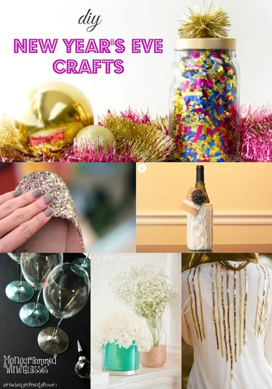 DIY New Year's Eve Craft Ideas