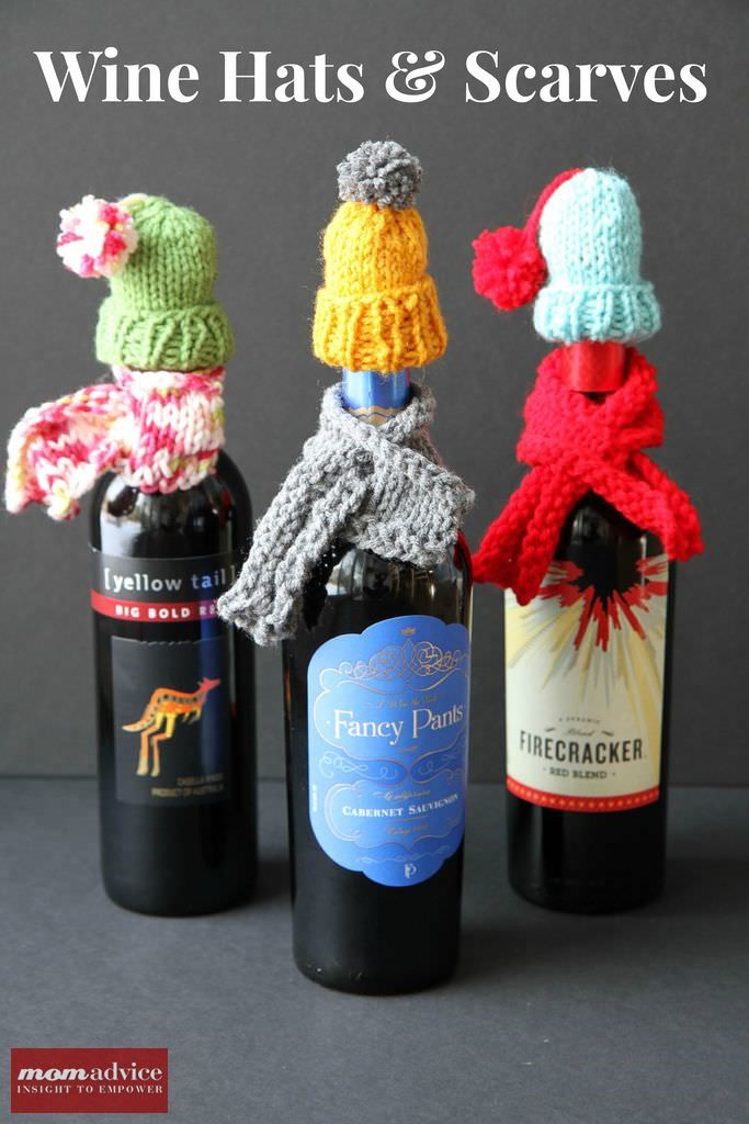 Wine Hats & Scarves