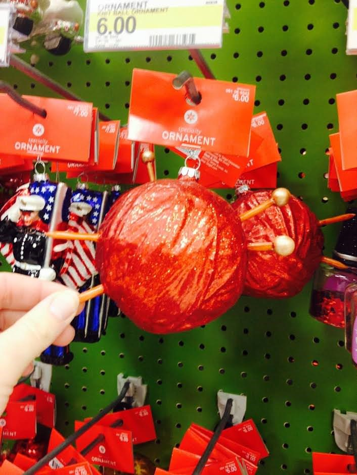 Target Yarn Ball Ornament