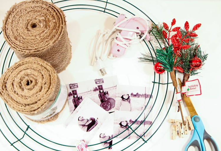 The Easiest Burlap Wreath You Will Ever Make from MomAdvice.com