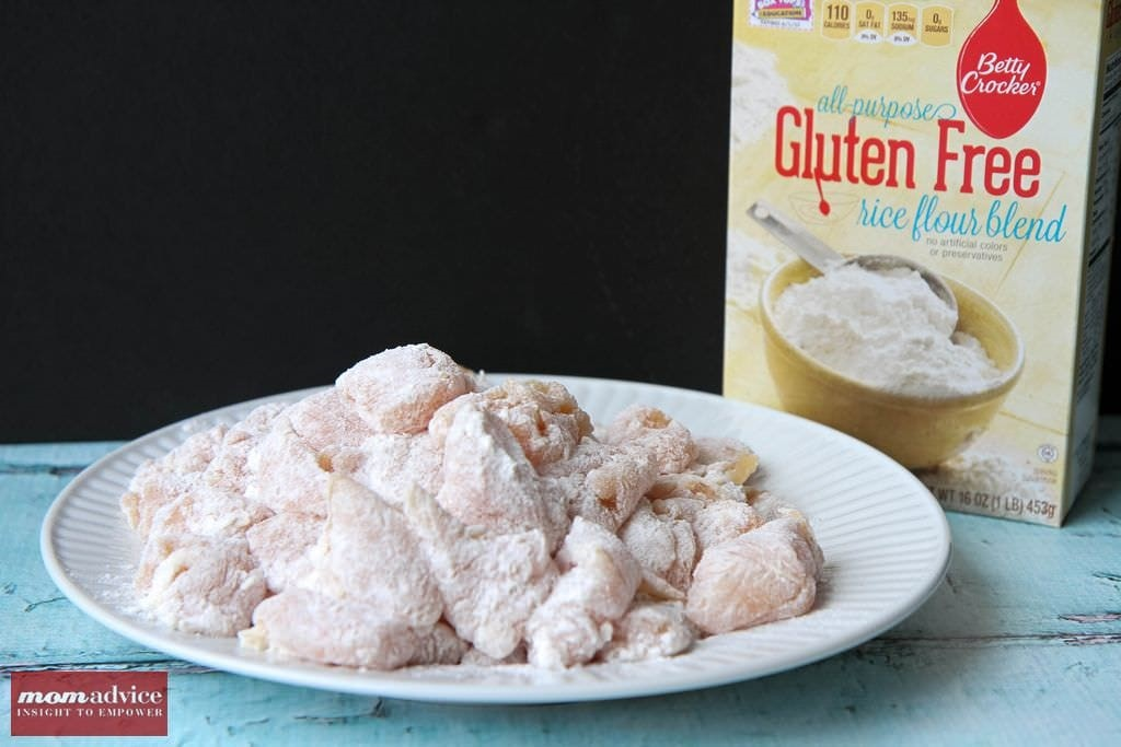 Gluten-Free Orange Chicken from MomAdvice.com.
