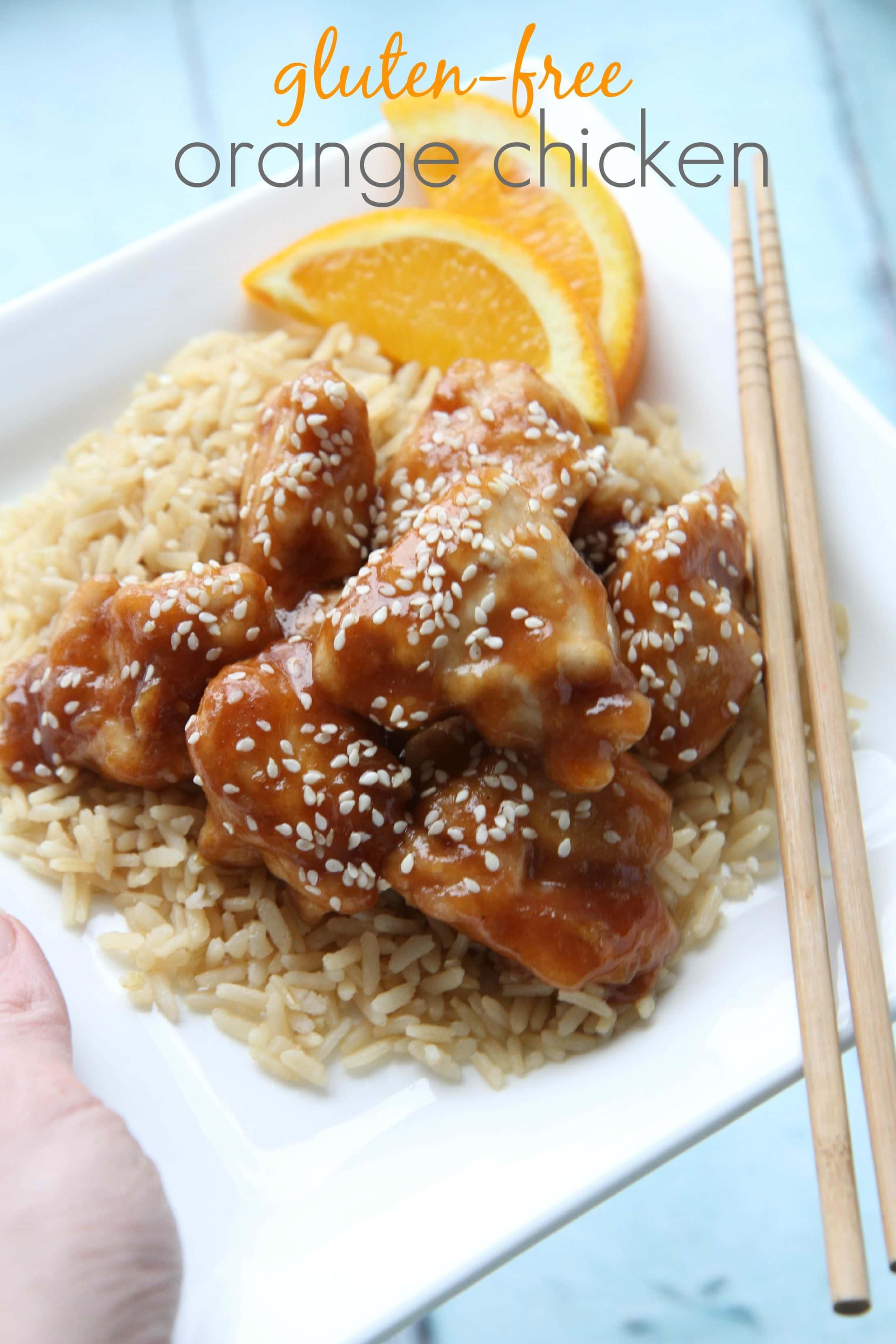 Gluten-Free Orange Chicken
