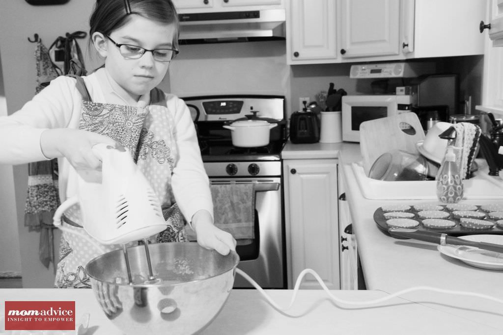 Tips & Tricks for Cooking With Your Kids