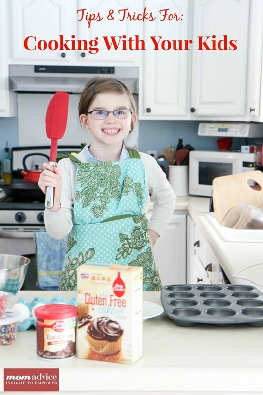 Winter Activity Idea:  Baking With Kids