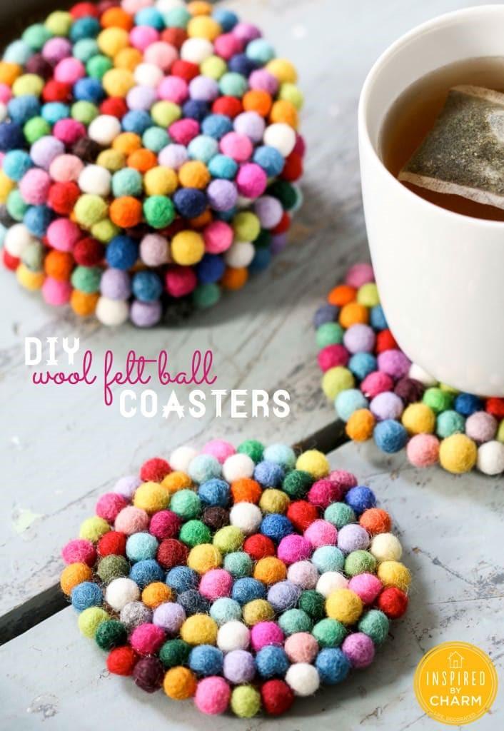 Felt ball coasters-706x1024