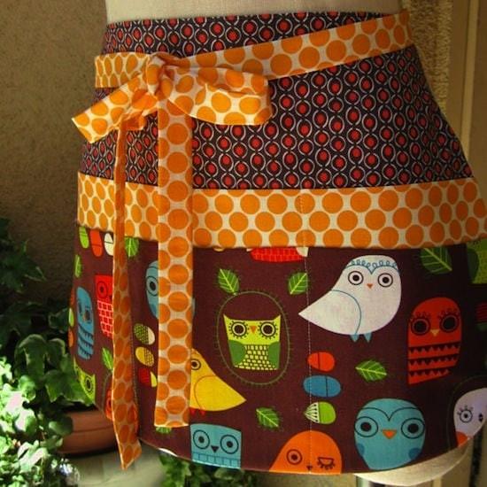 owl apron