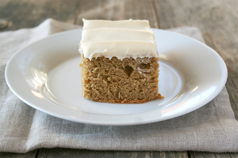 Naturally Sweetened, Einkorn Pumpkin Bars | momadvice.com