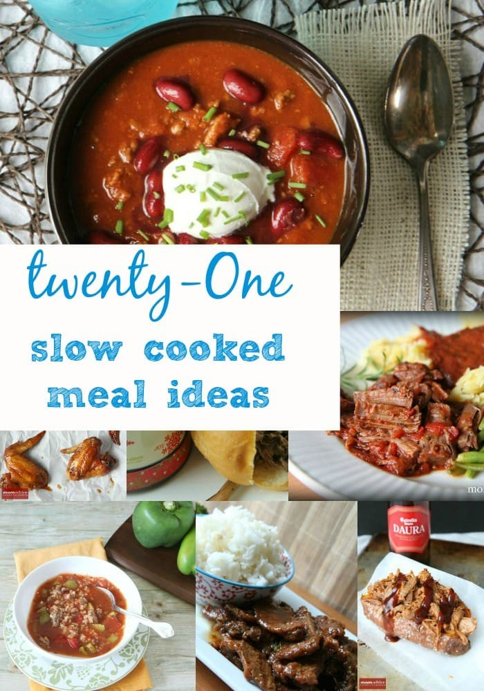21 Easy Slow Cooker Meals