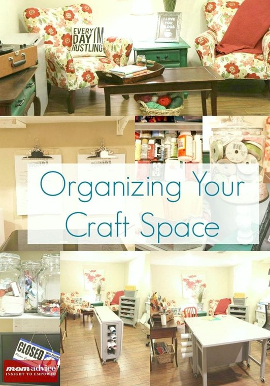 Smart Solutions for Craft Room Organization