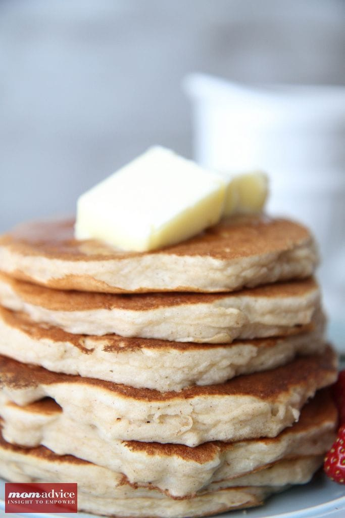 Gluten-Free Pancakes from MomAdvice.com.