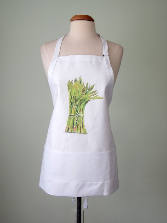 asparagus apron