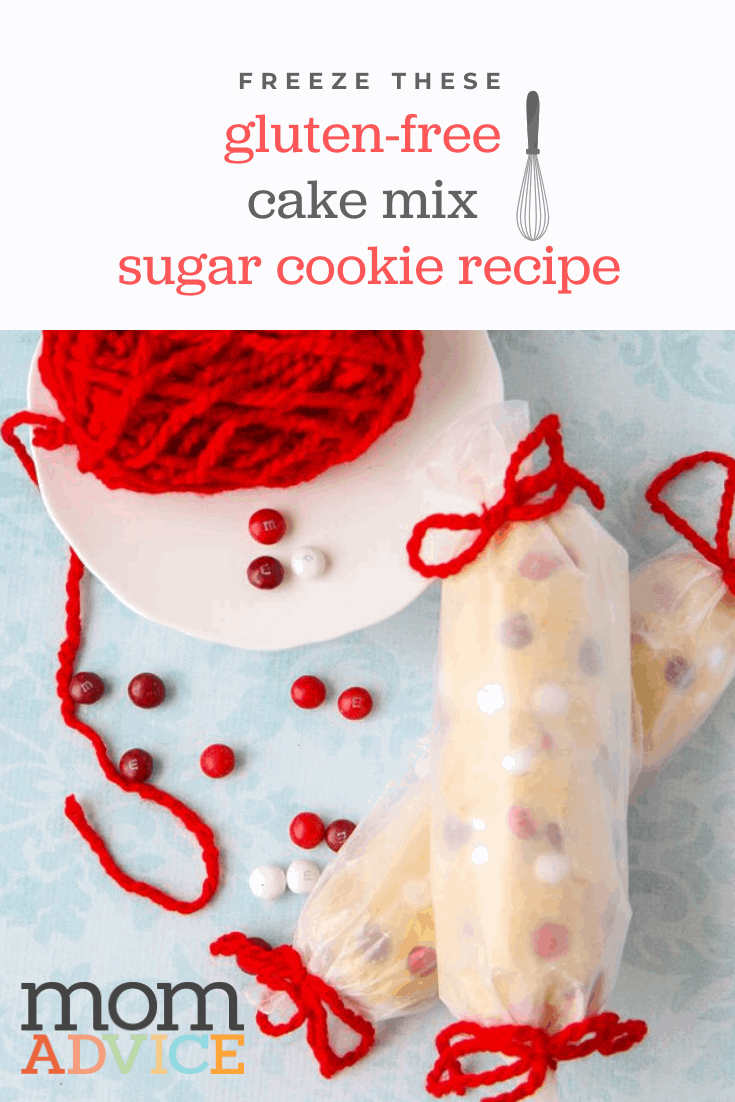 Gluten-Free Cake Mix Sugar Cookies Recipe from MomAdvice.com
