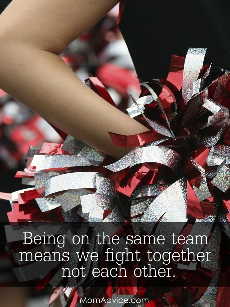 Cheering for the Same Marriage Team - MomAdvice.com