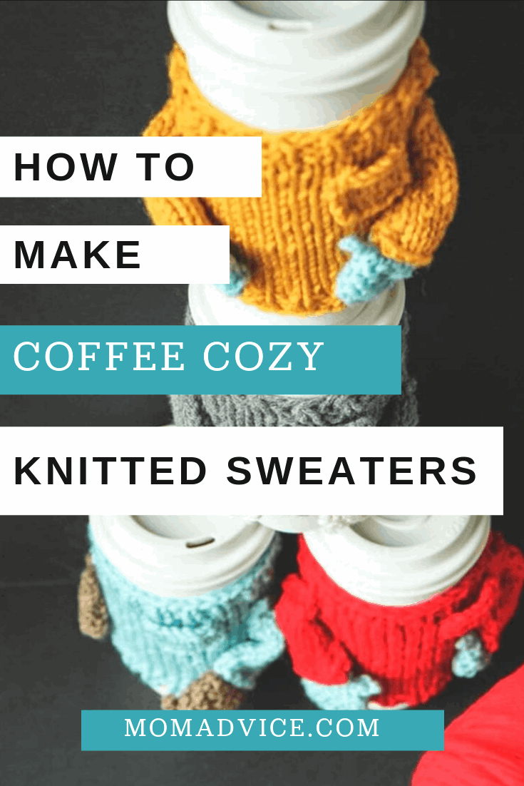 How to Make a Knitted Coffee Sweater