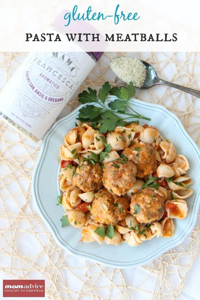 Gluten-Free Meatball & Pasta Recipe