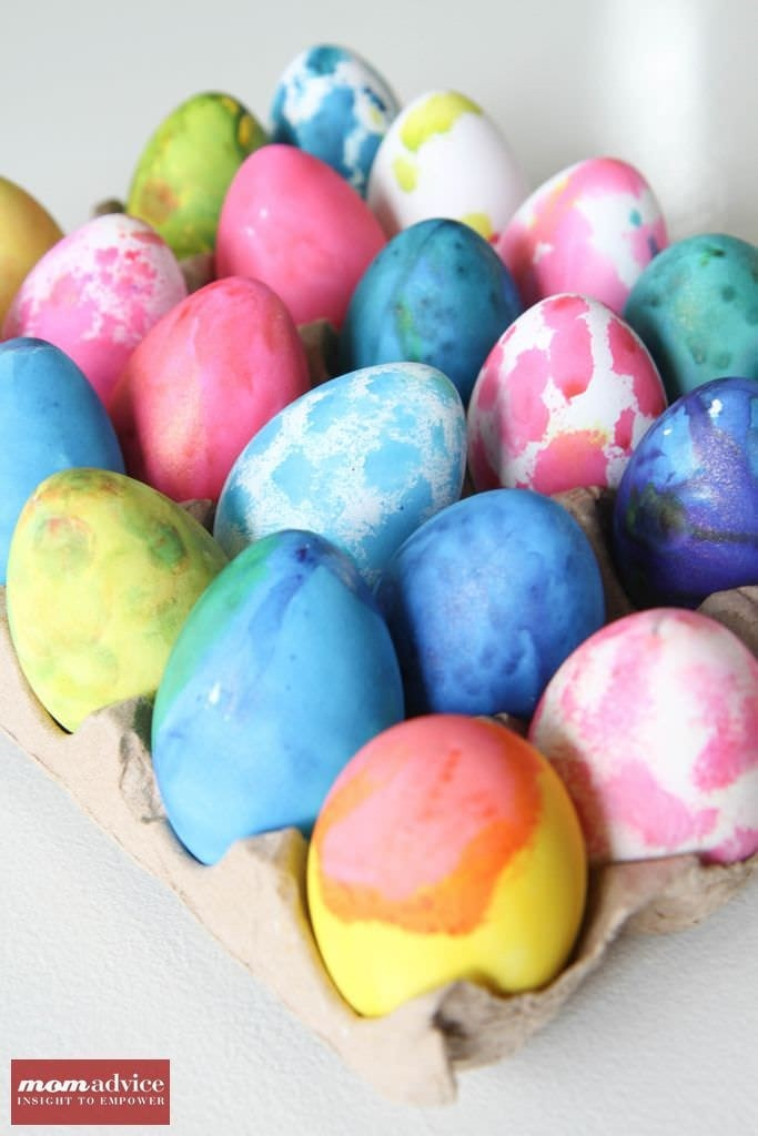 How to Dye Plastic Eggs