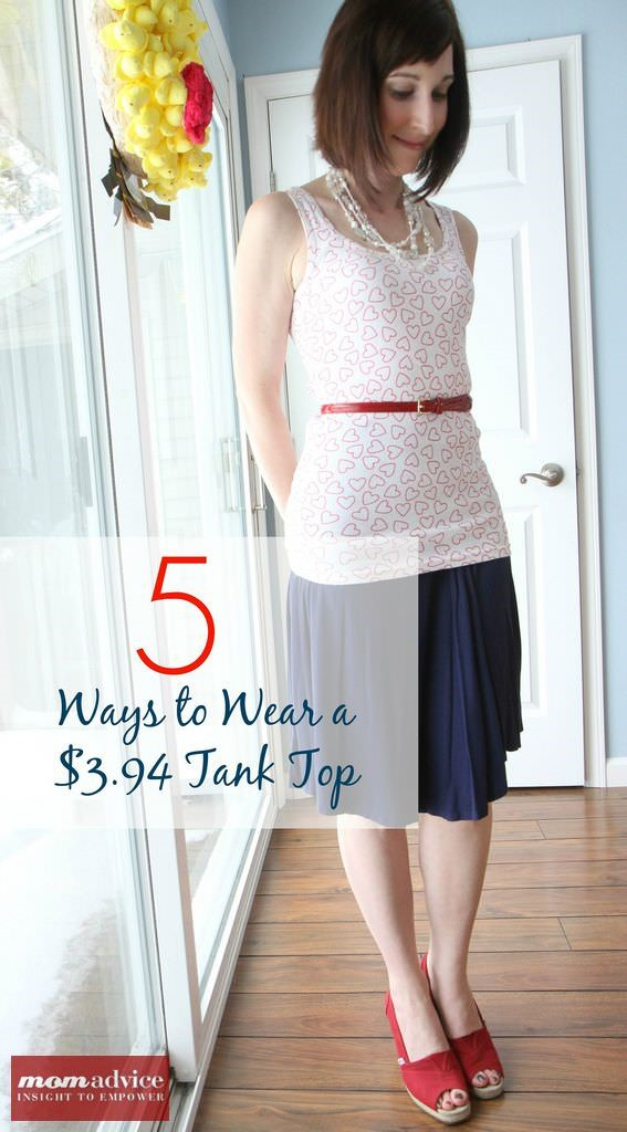 5 Ways to Wear a $3.94 Tank Top