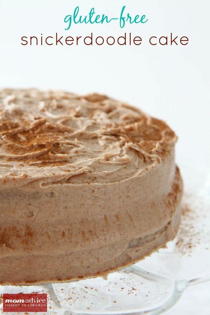 gluten-free snickerdoodle cake