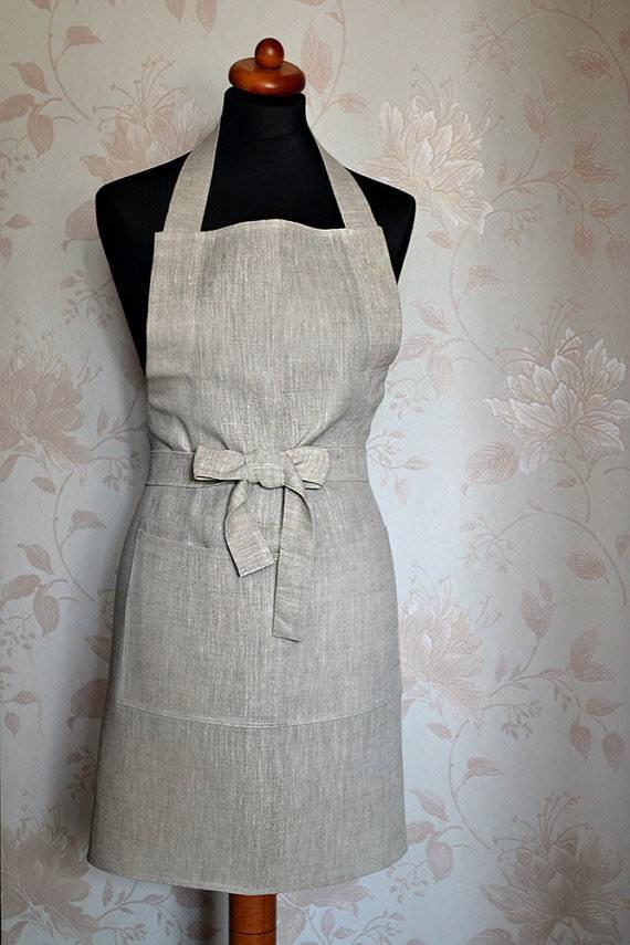 linen apron