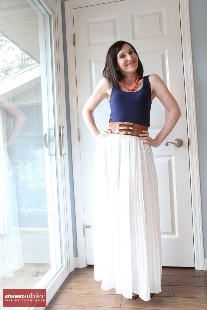 Pretty in Pleats Maxi (Flourish Boutique)