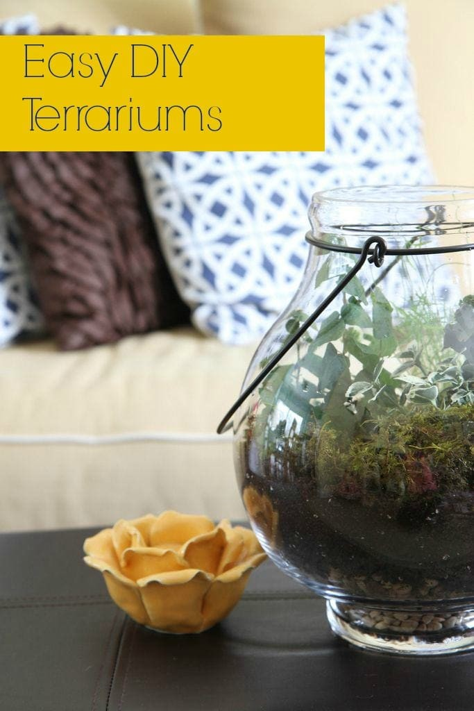How to Make a DIY Terrarium from MomAdvice.com.