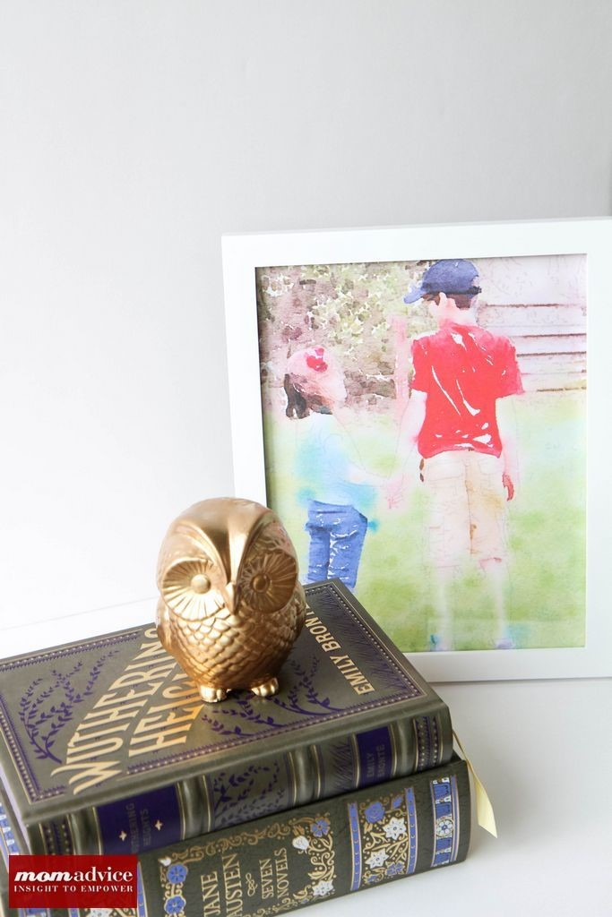 How To Print Waterlogue Pictures from MomAdvice.com.