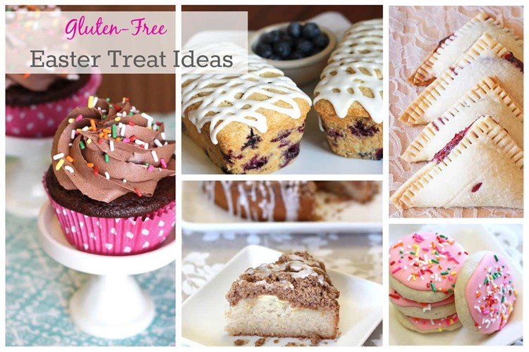 5 Gluten-Free Treats,  Perfect for Easter