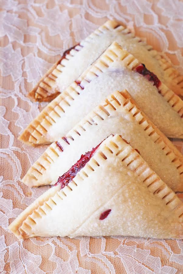 Gluten Free Vegan Raspberry Hand Pies