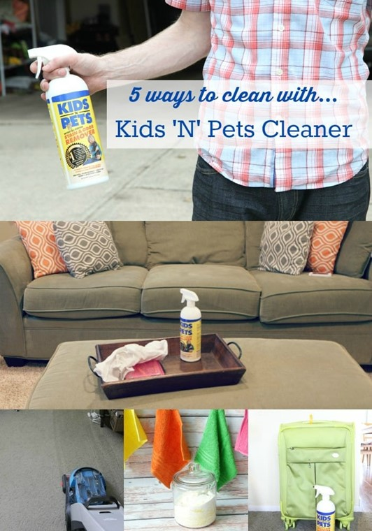 5 Ways to Use Kids 'N' Pets Stain & Odor ...