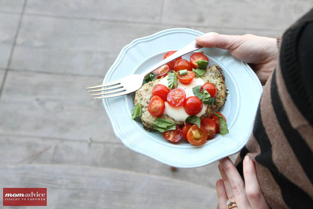 5-Ingredient Caprese Pork Chops from MomAdvice.com #grilling #glutenfree