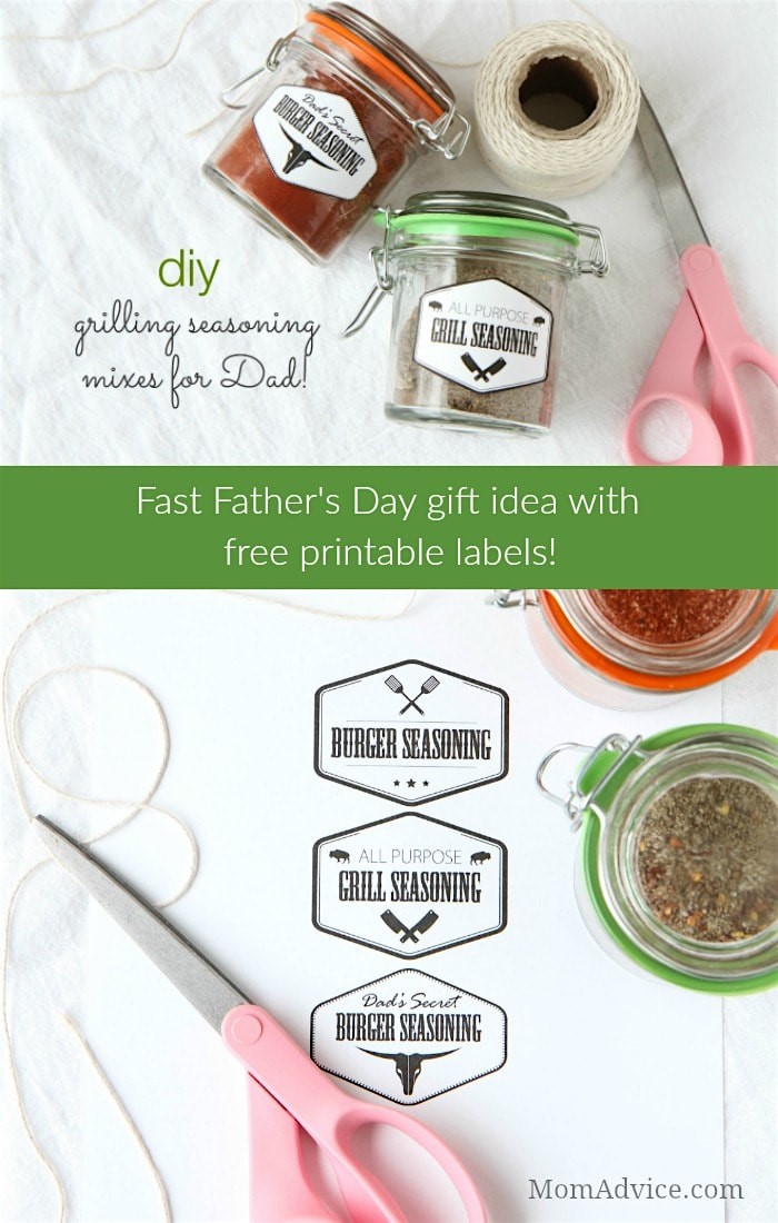 DIY Grilling Seasoning Mixes For Father's Day