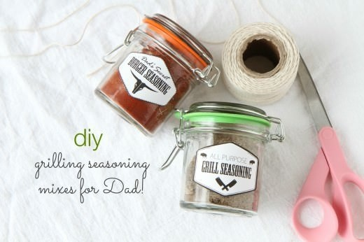 DIY Grilling Seasoning Mixes #grillmaster