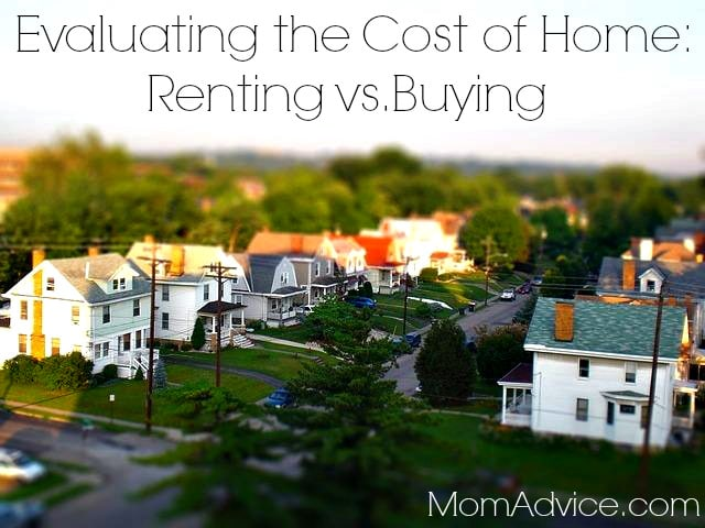Evaluating the Cost of Home Renting vs. Buying