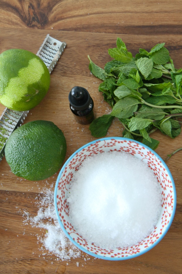 DIY Mojito Bath Salts