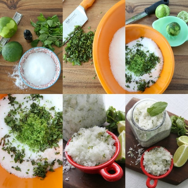 How to Make MojitoBath Salts