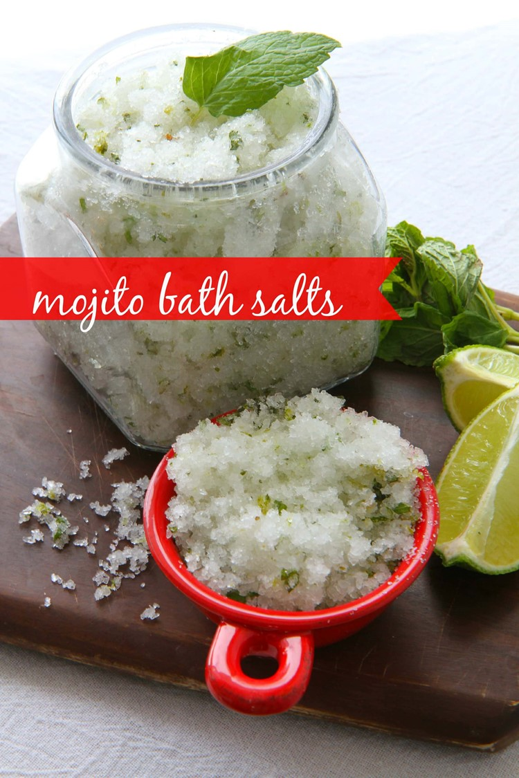 How to Make Mojito Bath Salts