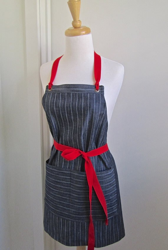 denim apron via etsy