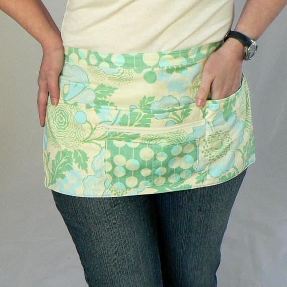 zip half apron
