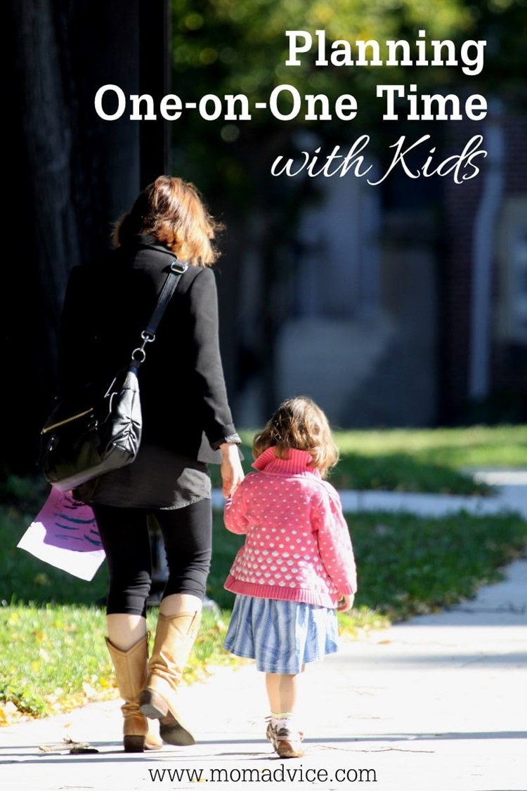 Planning One-on-One Time with Kids