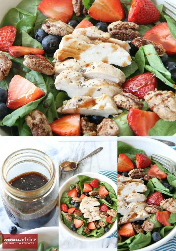 Berry Pecan Salad from MomAdvice.com.