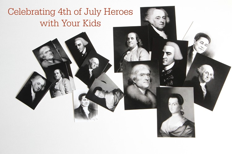 Celebrating 4th of July Heroes With Your Kids