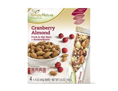 Aldi Cranberry Almond Bars